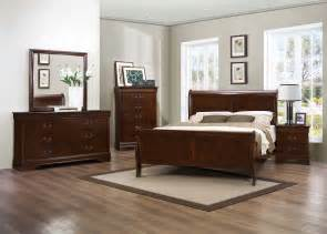 Brown Bedroom Set Homelegance Mayville Bedroom Set Burnished Brown Cherry