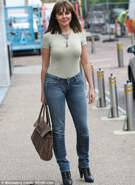 how a 50 year old woman should dress how should carol vorderman dress at 50 daily mail online