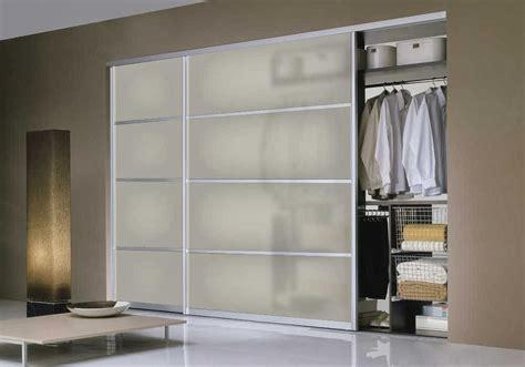 Sliding Glass Doors For Closet Closet Door Modern Ayanahouse