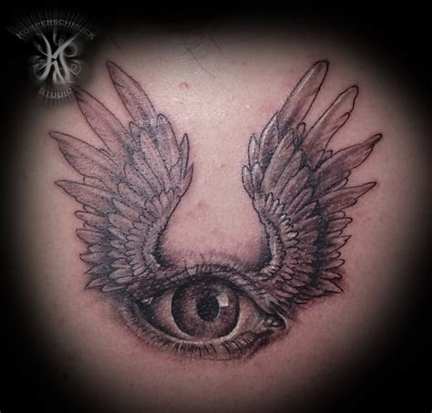 Tattoo Eye With Wings | 35 unique eye tattoos