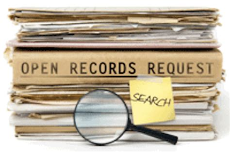 Open Records Protecting The S Access To Records Boca