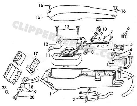 wahl clipper parts diagram wahl beard trimmer parts diagram wahl get free image