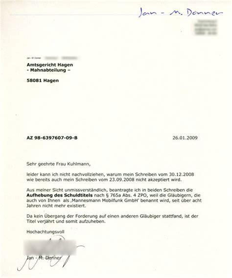 Ein Offizieller Brief Schreiben Jandonner