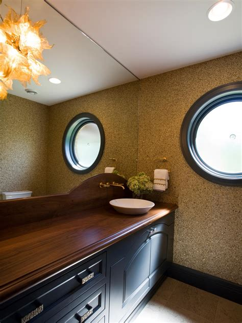 wood counter bathroom photo page hgtv