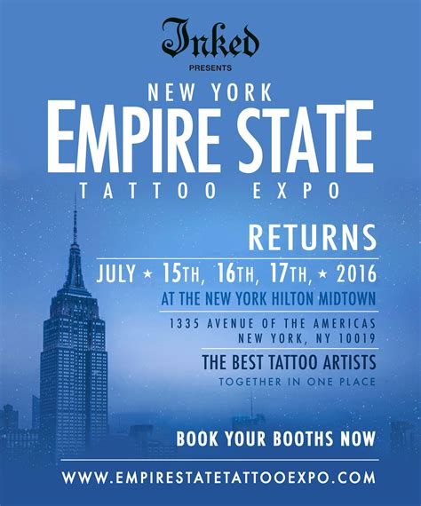 ny tattoo convention convention manhattan ny empire state expo