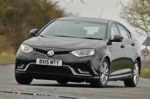 new mg cars review 2015 mg 6 comes with lower prices and upgraded specs and