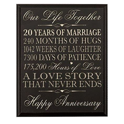 20Th Wedding Anniversary Gifts For Her