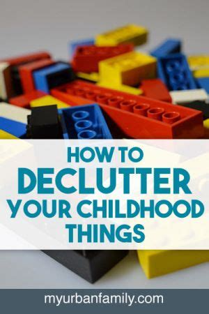 decluttering sentimental items how to declutter your childhood things creative the o