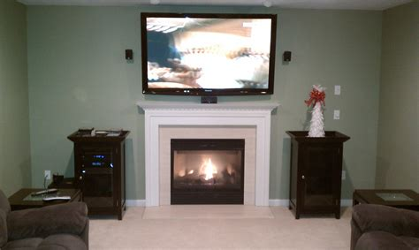 Concealed Tv Fireplace by Wood Wall Tv Fireplace Remote Concealed Wires