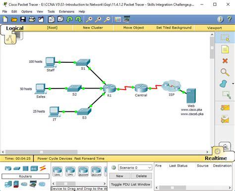 packet tracer skills integration challenge answers 11 4 1 2 packet tracer skills integration challenge