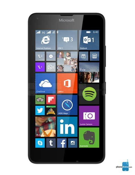 Headphone Lumia microsoft lumia 640 specs