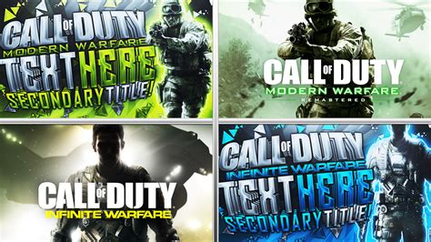 photoshop thumbnail template infinite warfare thumbnail template pack by