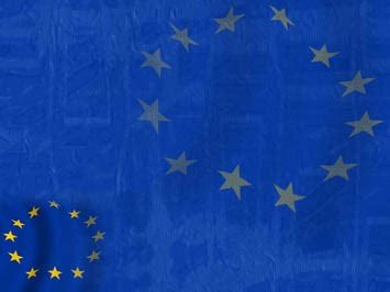 european union flag 02 powerpoint templates