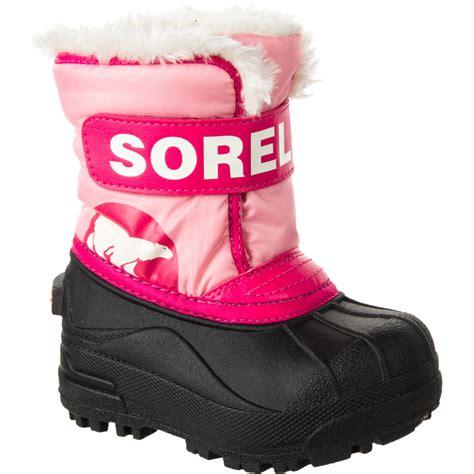 sorel toddler boots sorel snow commander boot toddler backcountry