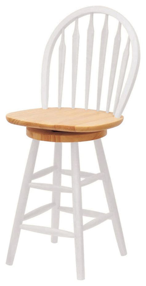 24 inch white swivel bar stools winsome wood 24 inch swivel stool in