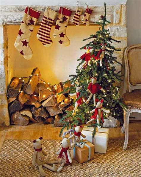 home decorating ideas for christmas holiday alpine chalet christmas decoration 15 charming country