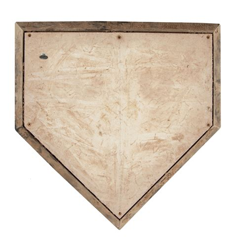 home plate lot detail 2011 game used visitor s bullpen home plate