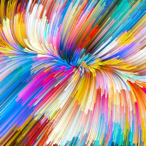 Artistic Colour Gloss L by Freeios7 Iphone Wallpaper Vy07 Color Rainbow