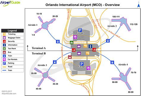 mco map orlando international airport kmco mco airport guide