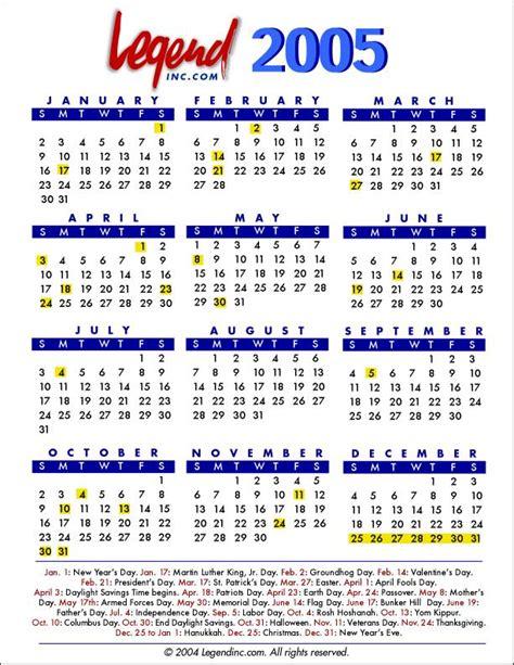 Calendar For 2005 Search Results For Kalendar 2005 Calendar 2015