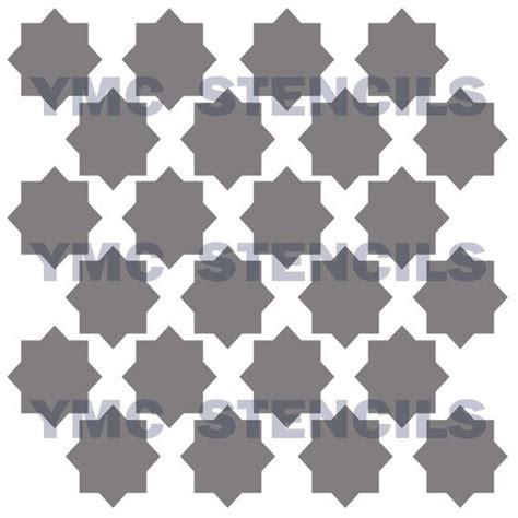moroccan shapes templates moroccan stencil 8x8 moroccan stencil and stencil