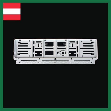 Auto Versicherung In österreich by Wechselnummernrahmen Archive Kennzeichenhalter Und Label