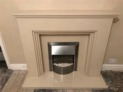 marble fireplace surround back plate hearth and