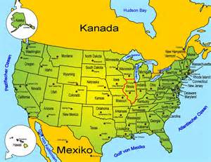 usa map chicago il sehensw 252 rdigkeiten usa bundesstaaten illinois goruma