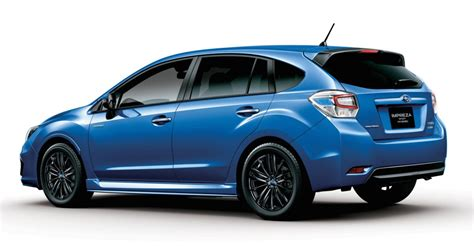 subaru japanese subaru impreza sport hybrid launches in