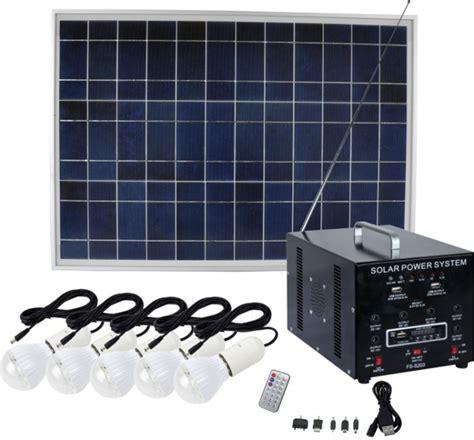 d light solar home system 45w dc energy saving solar home lighting system with radio
