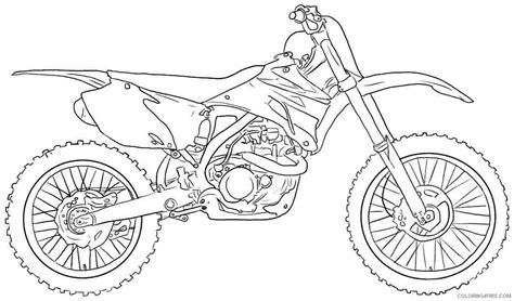 yamaha motorcycle coloring pages yamaha dirt bike coloring pages coloring4free
