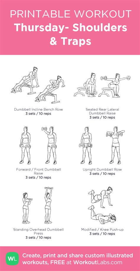 best 25 shoulder and trap workout ideas on