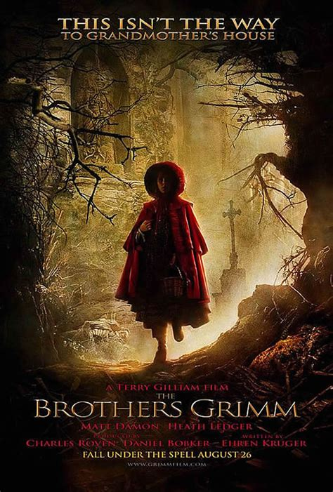 film fantasy historia the brothers grimm fantasy movie posters