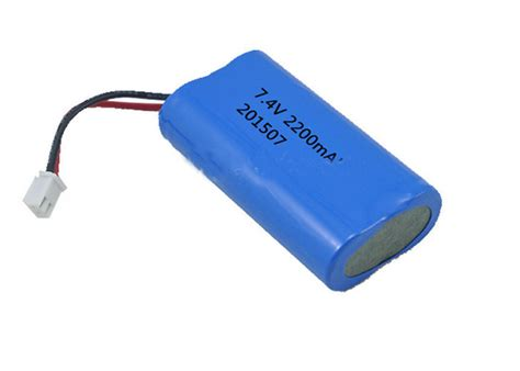battery pack lights rechargeable 7 4v li ion battery pack 2200mah icr 18650