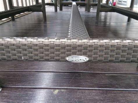 dedon outdoor dining set for sale furniture in singapore