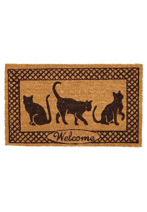Cat Door Mat by Door Mat With Cats