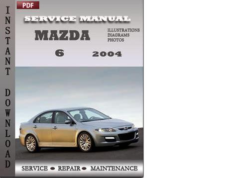 motor repair manual 2008 mazda mazda6 user handbook mazda 6 2004 service repair manual download manuals technical