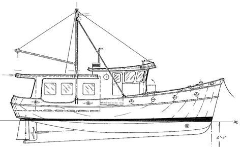 commercial fishing boat diagram 40 trawler yacht coaster kasten marine design inc