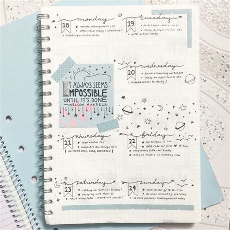 journal layout tips 24 aesthetically pleasing bullet journal layout ideas that