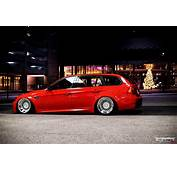 Stance BMW 320d Touring E91 Side