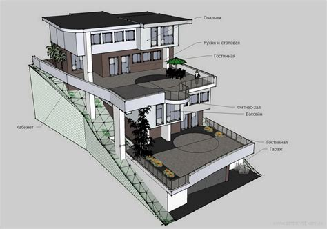 house design on hill slopes houses on a slope designs google search slope house pinterest google search