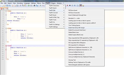 format html plugin notepad auto indentation plugin for notepad software