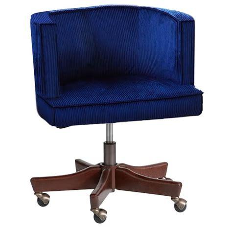 swivel desk chair scoop swivel desk chair pbteen