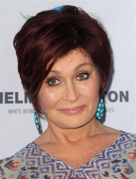 Recent Sharon Osbourne Hairstyle 2014 | sharon osbourne new haircut 2014 newhairstylesformen2014 com