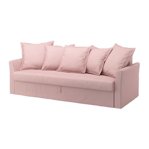sleeper sofa covers holmsund cover for sleeper sofa ransta light pink ikea
