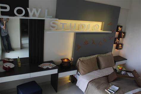 desain kamar owl paket interior apartemen ciumbuleuit 3 kamar type rosewood
