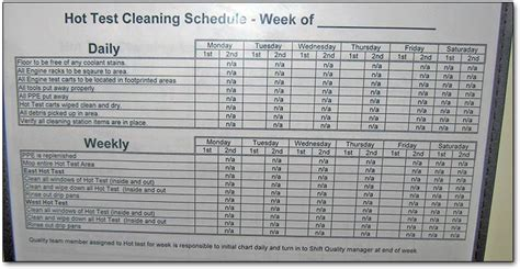 bar cleaning rota template bar cleaning schedule just b cause