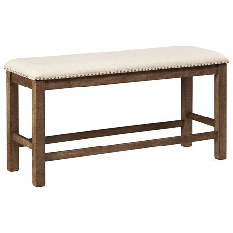 ashley furniture dining bench signature design by ashley moriville double upholstered
