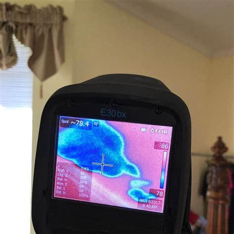 Using an Infrared Camera to Detect Water Damage in Your Home