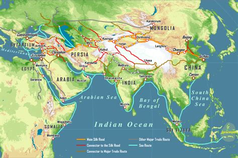 ancient trade ancient trade routes between europe and asia www imgkid